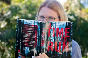 My Debut novel A Time to Run is available on June 30. Photo by Sheree Tomlinson